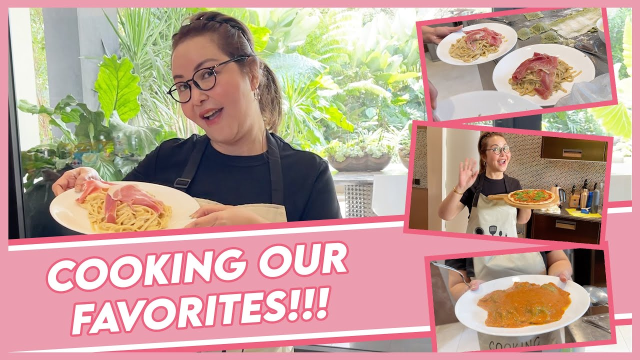 COOKING OUR FAVORITE DISHES! | Small Laude