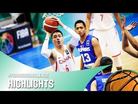 China v Philippines - Highlights - FIBA Asia Challenge 2016