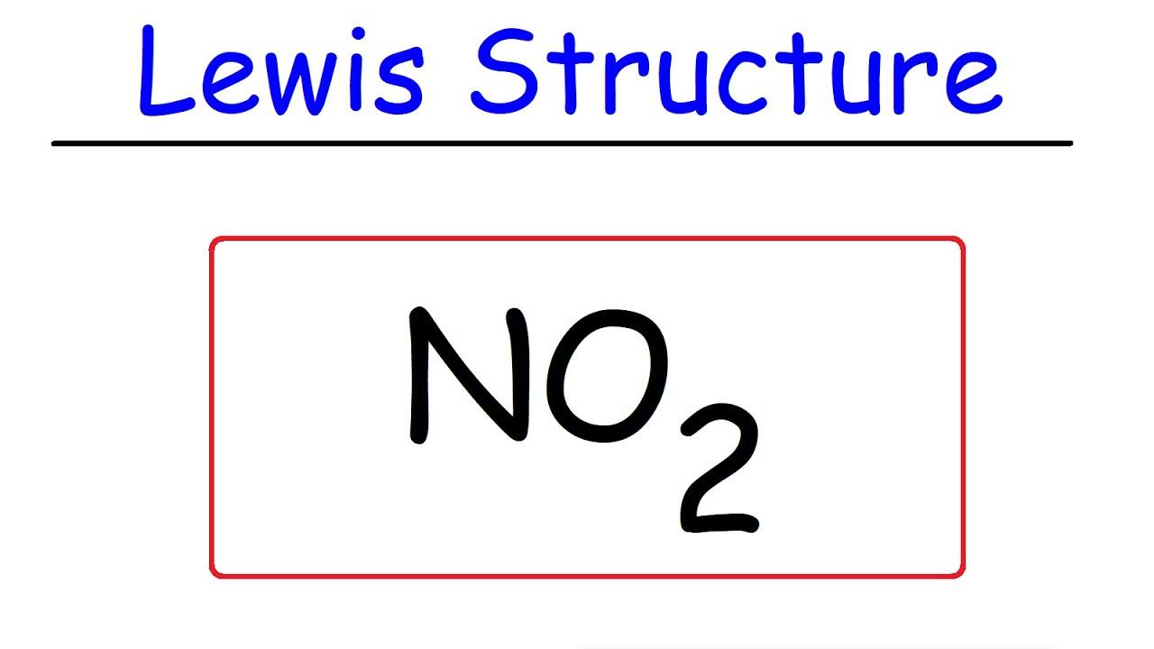Download NO2 - Lewis Structure - Nitrogen Dioxide