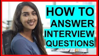 Download lagu HOW TO ANSWER Interview Questions: PASS Your INTERVIEW!