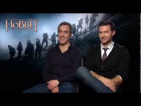 Andy Serkis Interviews Richard Armitage and James Nesbitt on The Hobbit