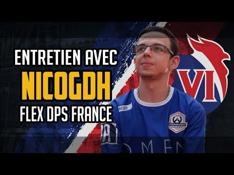 with NICOgdh : flex dps for the French Team OWWC 18  Eagle Gaming