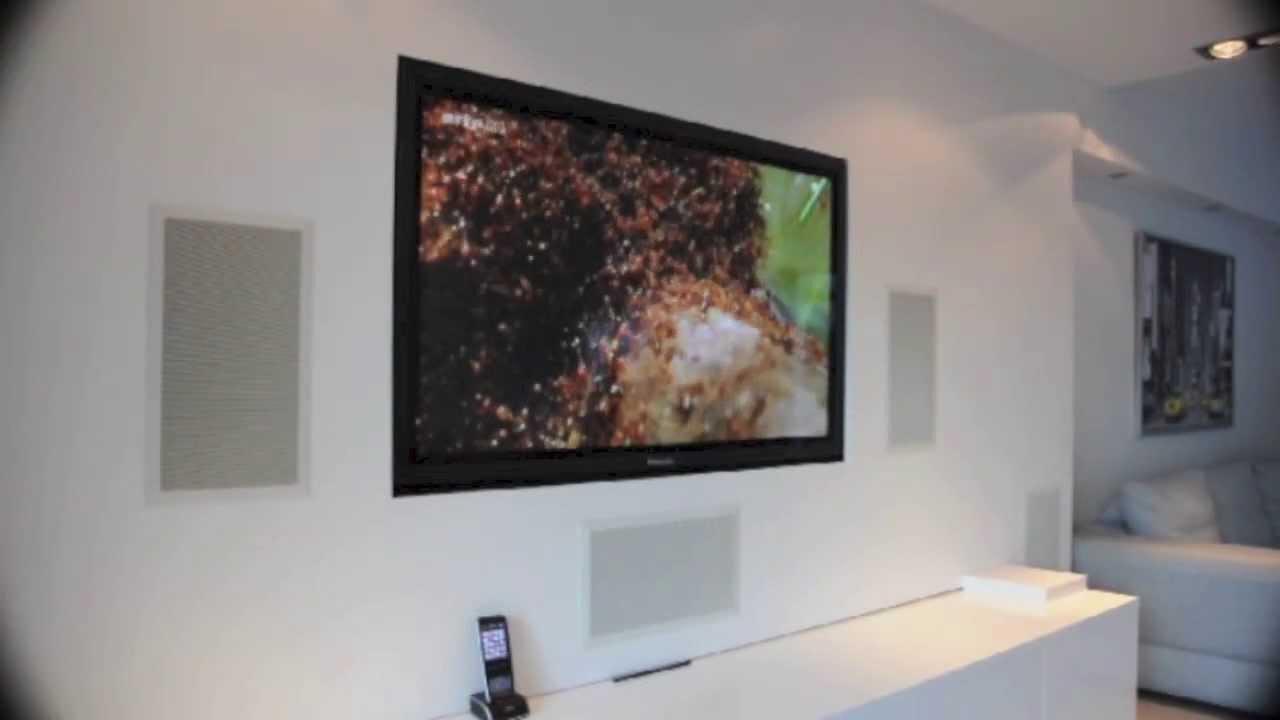 mur audio video integre par 1 telect