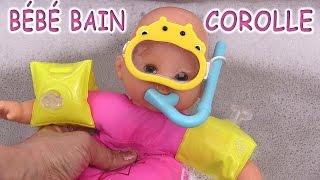 Corolle Mon Premier Bébé Bain & Accessoires Poupon Nageur Baby Doll Bath Toy Jouets de Bébé