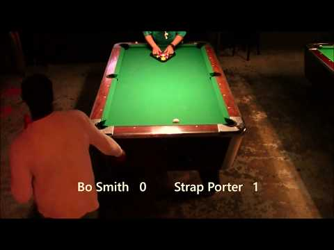 Cue It Up Sports 9-Ball, 06/05/17, Bo Smith vs Strap Porter
