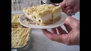 Фото Насыпной пирог с творогом или Королевская ватрушка.