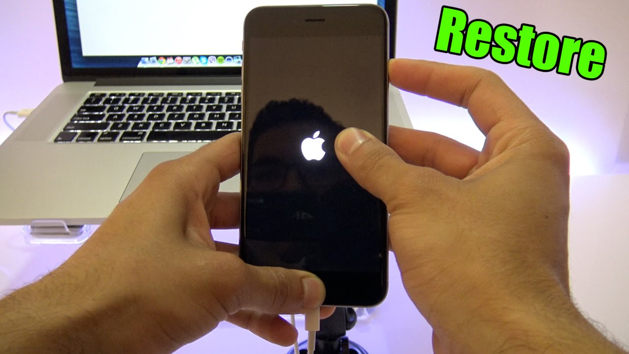 How To Restore Iphone 6/5s/5c/5/4s/4 FULLY Restore an Iphone, iPad or iPod
