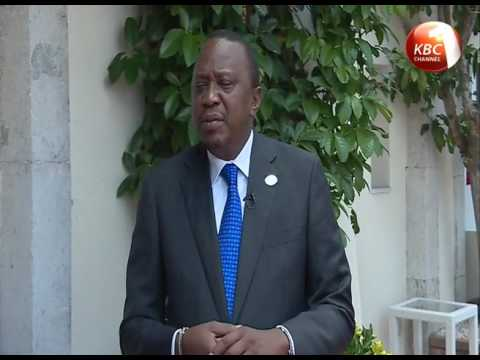 President Kenyatta urges G7 members to unify efforts in working with Africa