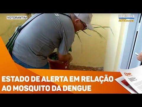 Estado de alerta em relação ao mosquito da dengue - TV SOROCABA/SBT