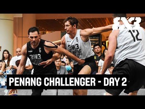 LIVE 🔴 - FIBA 3x3 Penang Challenger 2018 - Day 2 - Penang, Malaysia