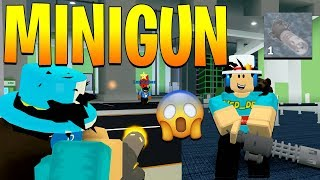 HOW TO GET THE NEW MINIGUN IN MAD CITY! (Roblox)