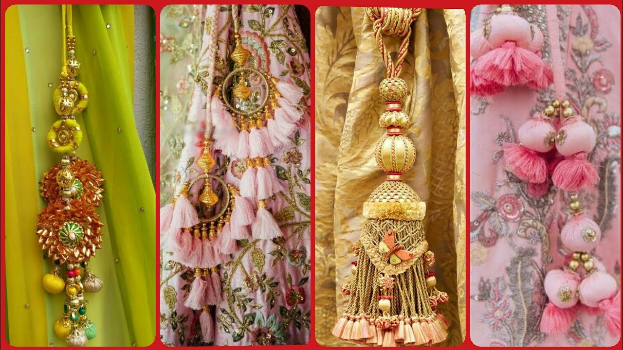 Stylish handmade latkan design/tassels design - YouTube