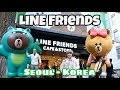 LINE FRIENDS CAFE & STORE Biggest Store Korea - VLOG MYFUNFOODIARY