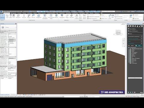 Теплотехнический расчет модели здания и подбор отопительных приборов (Revit+liNear Building)