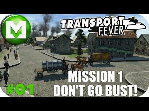 Transport Fever - Vanilla - Hard - Achievement Challenge EP01