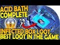 ACID BATH COMPLETE + INFECTED BOX OPENING - BEST LOOT In-Game! - Last Day on Earth Survival Gameplay