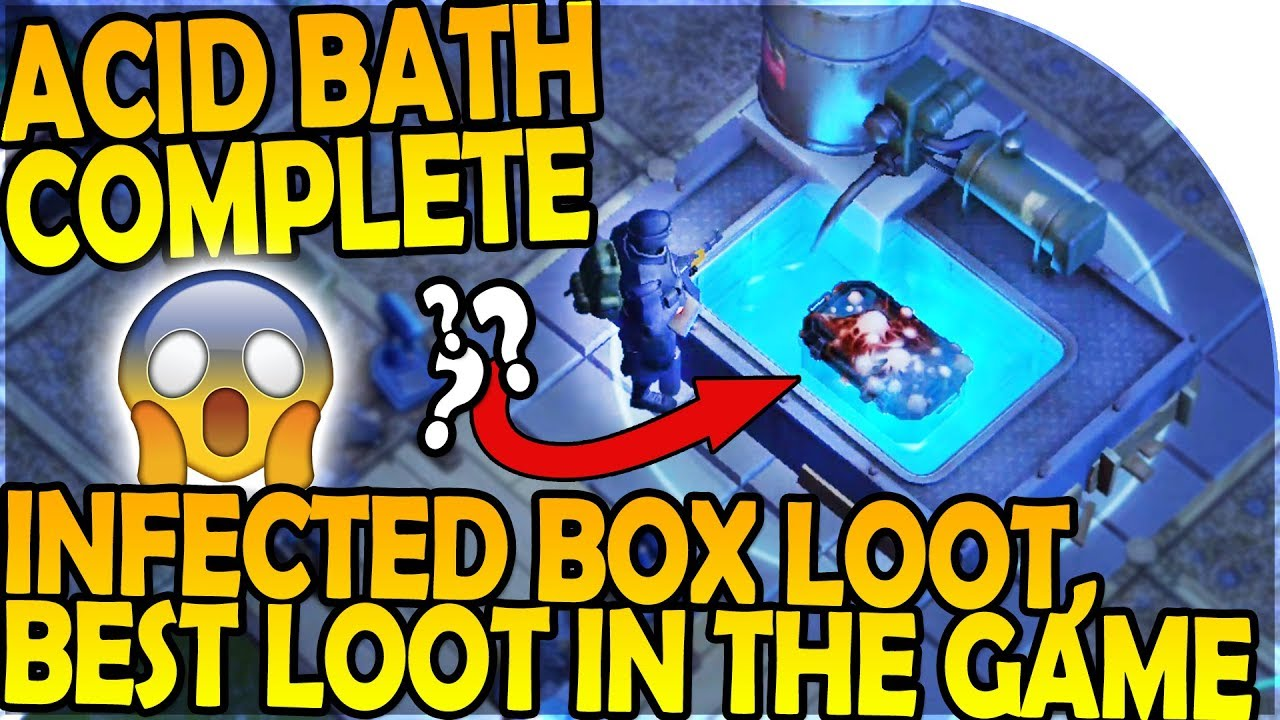 ACID BATH COMPLETE + INFECTED BOX OPENING - BEST LOOT In-Game ...