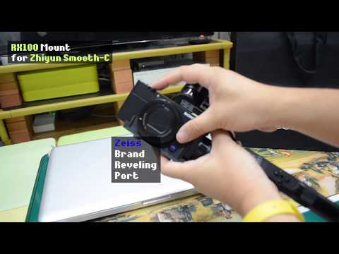 Sony RX100 Mount For Zhiyun Smooth-C | Everyday Carry Video Co.