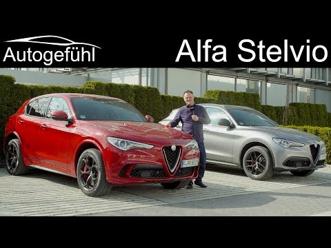 Alfa Stelvio FULL REVIEW 2019 2020 B-Tech - Autogefühl