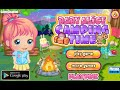Baby Games » Baby Alice Camping Online Free Flash Game Videos GAMEPLAY