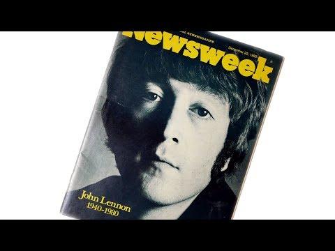 Unboxing Newsweek - Death of John Lennon - 22 December 1980