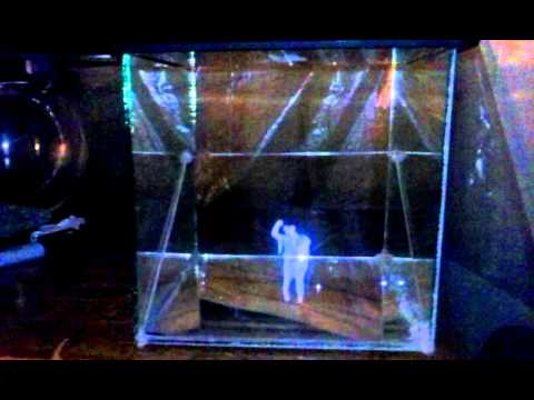 how to make holograms projector