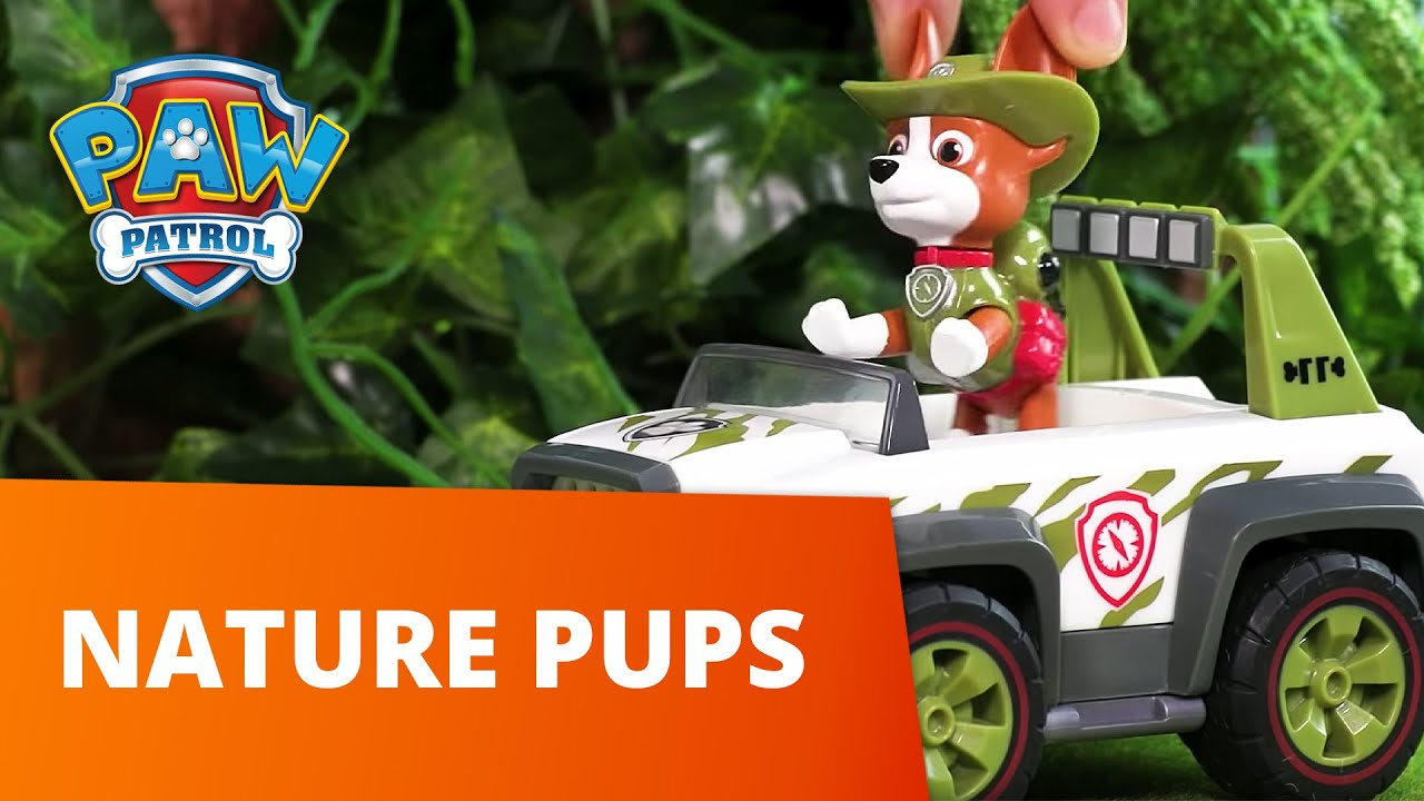 PAW Patrol | Forest and Tree Rescues! Nature Pups! | Toy Episode Compilation