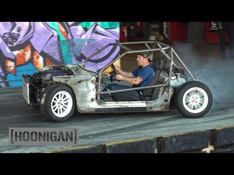 [HOONIGAN] DT 201: $200 Miata Kart Build [Part 8] - Muff…