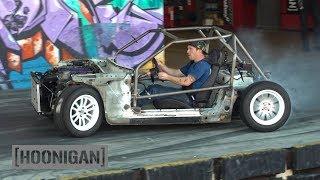 [Hoonigan] Dt 201: $200 Miata Kart Build [Part 8] - Muff And Man-Line