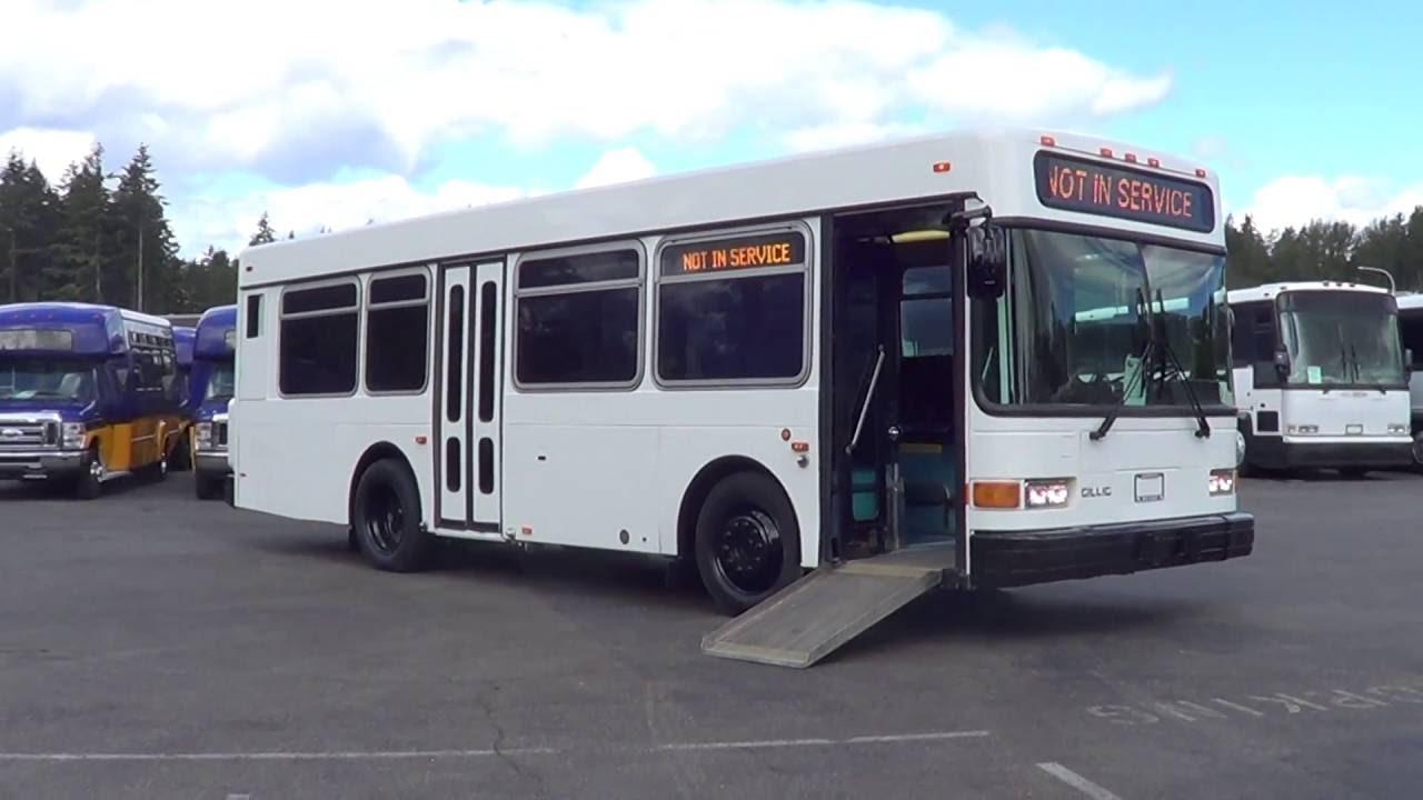 2002 gillig 30 foot low floor 28 passenger t90533
