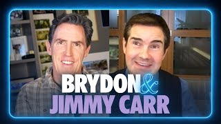 Jimmy Carr on dealing with hecklers & hanging out with Bruce Springsteen | BRYDON &