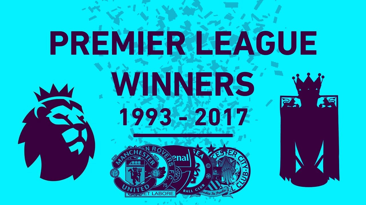 Premier League Winners