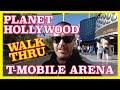 Planet Hollywood to T Mobile Arena Walk-Thru Las Vegas