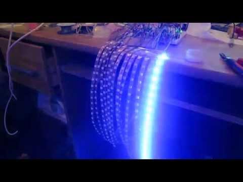 LM3915 RGB Led Strip Vu Meter