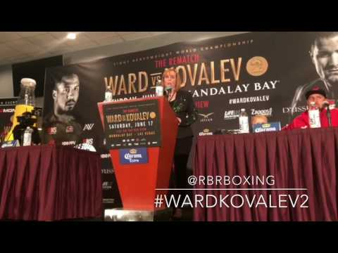 Ward vs. Kovalev 2: Kathy Duva Flips Out at Post-Fight Presser