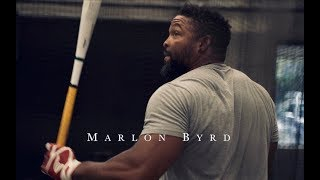 """The Art Of Hitting"" with Marlon Byrd at The Easton Hit Lab"