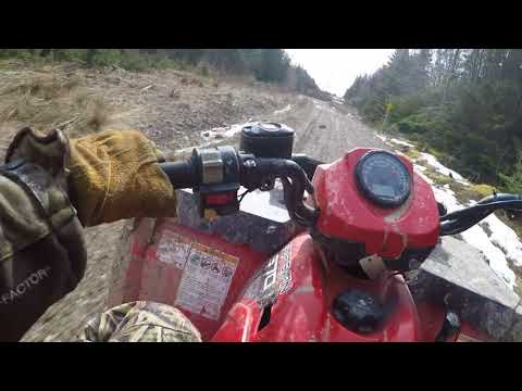 Polaris Sportsman 570, cruise up whycocomagh mtn lookoff.