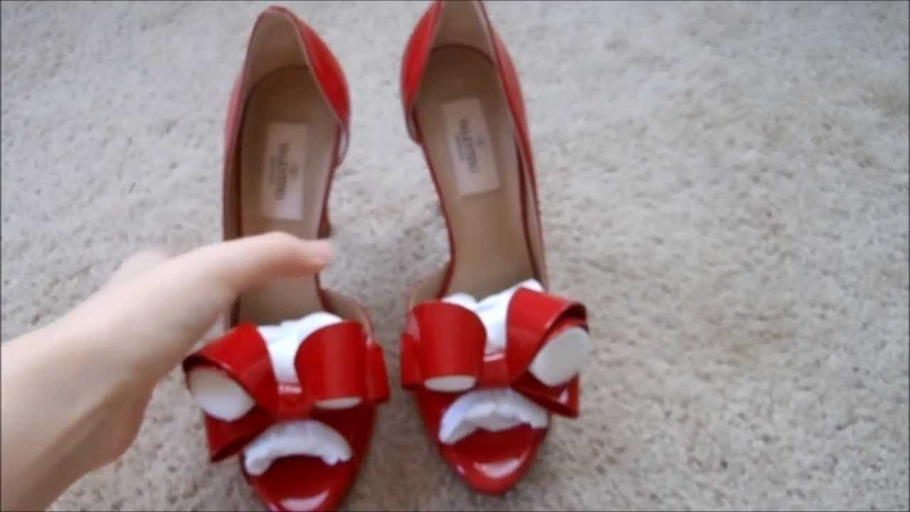 4cd5c81d9688f Red Valentino couture bow d'orsay pump review - YouTube