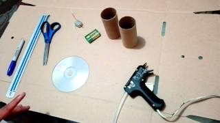 Ventilador| Artefactos Tecnológicos con elementos reciclables| Parte 1