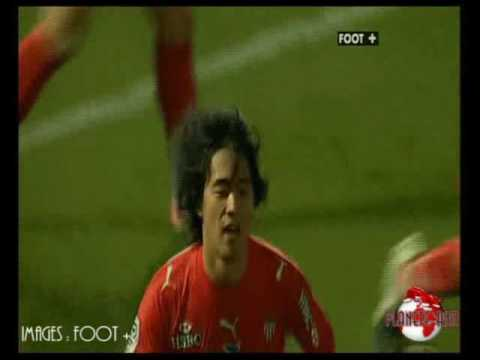 Nancy - Monaco 0-1 But de Park