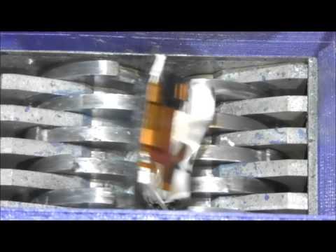 Shredding Gorilla Glass Sony Ericssson st17 xperia active