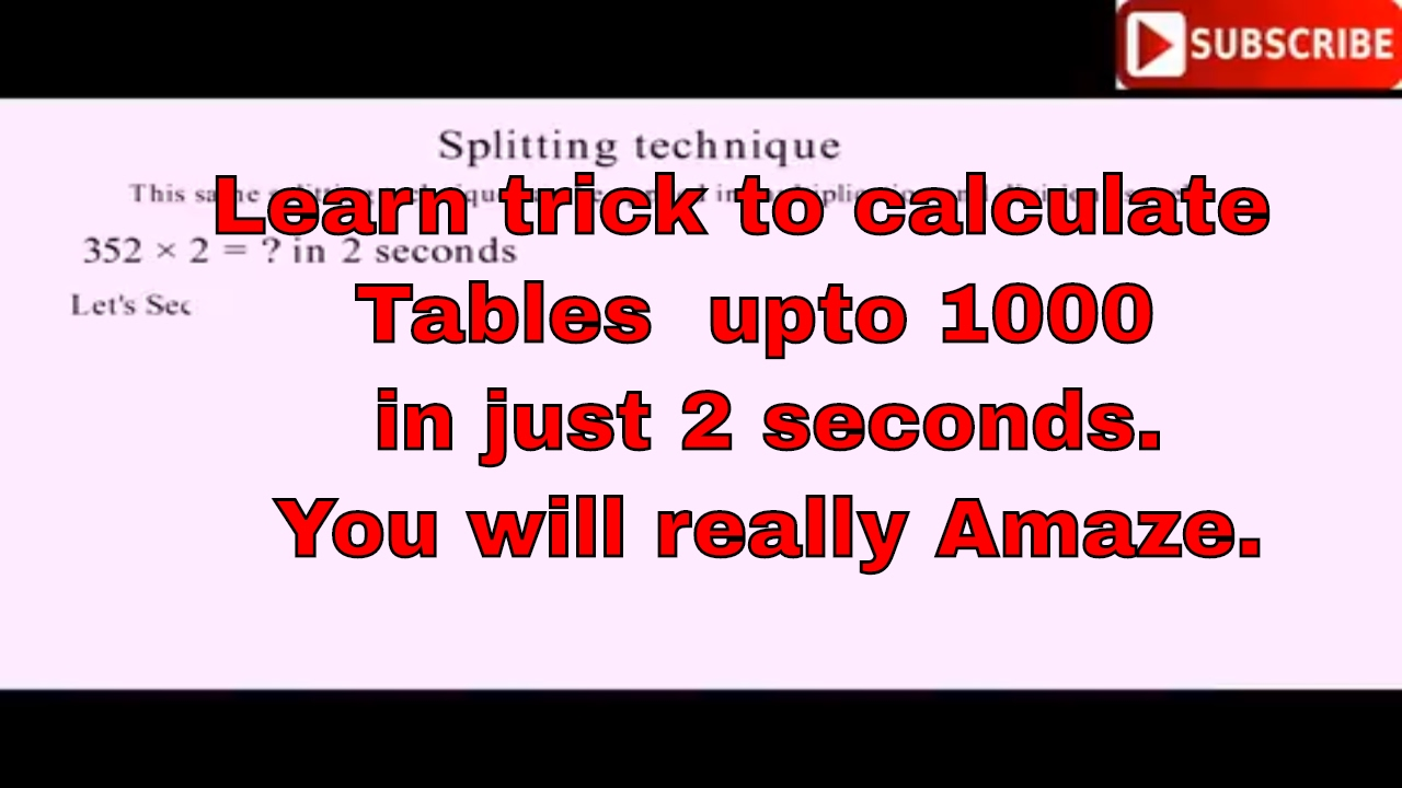 Best way to learn multiplication tables upto 1000 in english and best way to learn multiplication tables upto 1000 in english and hindi gamestrikefo Choice Image