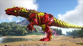 ark survival evolved 35 giganotosaurus khổng lồ siu đẹp