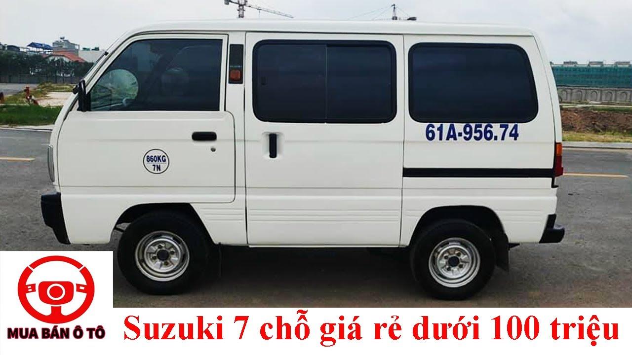 Xe 7 chỗ giá rẻ Suzuki Super Carry giá vài chục triệu   Phúc Việt mua bán ô tô cũ