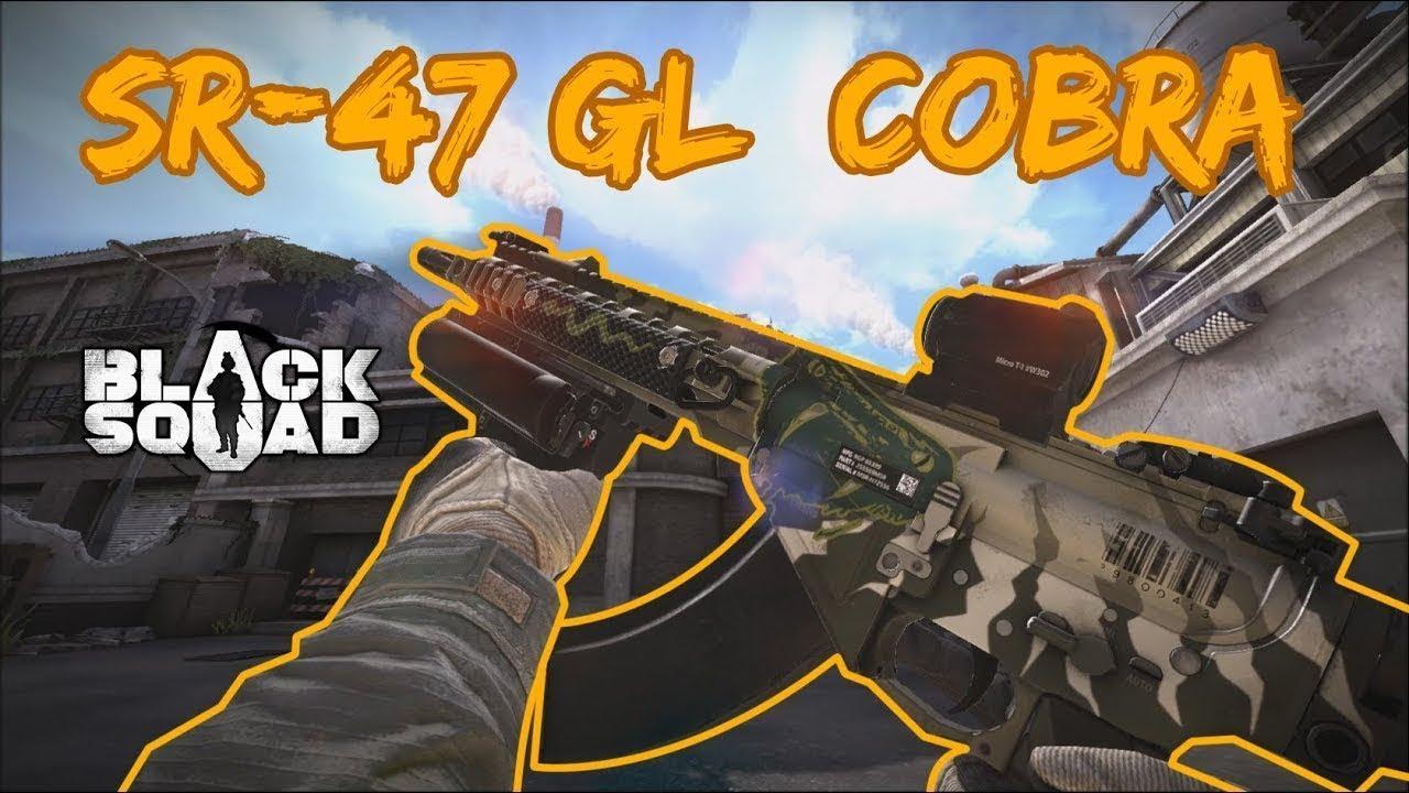 Black Squad - SR-47 GL Cobra test gameplay