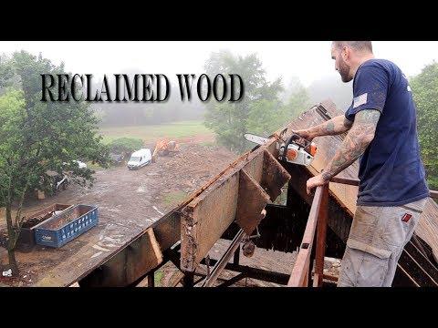 Old New Jersey Barn Reclaimed Wood White Oak & Chestnut