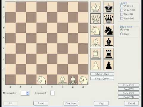 Fischer Random Chess - Setup and Castling