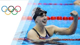 Ledecky sprints to win 200m Freestyle gold