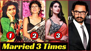 15 South Indian And Bollywood Stars Who Married 3 Times