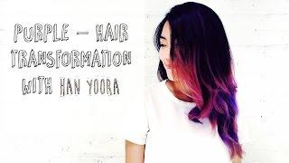 Gambar cover PURPLE Hair Transformation w/ YOORA